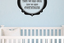 Baby Boy's decor / by Candace Thomas