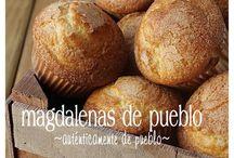 Magdalenas del pueblo