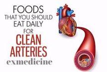 Food to unclog Arteries