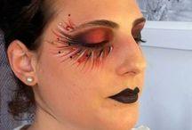 Giulia' s make up / My works on my skin