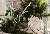 Vianočné aranžmány, vence..inšpirácie