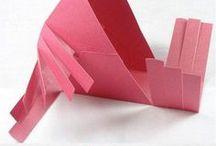 kočárek z papíru