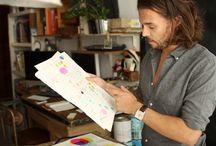 Artist Illustrator Interviews / by Garrett Bouslough