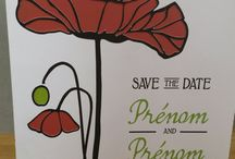 Save The Date Coquelicot / Faire part