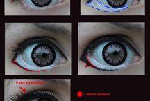 Makeup tutorials for cosplays