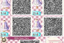 Animal Crossing New Leaf QR codes / by Paige Findley