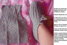 Sapatinhos de tricot