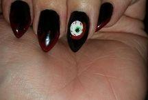 Horror & Gore Inspired Nails