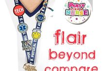 Flair for Work / Lapel pins available for Nurses, EMS, Medical professionals and more to decorate your work wardrobe. / by ADVANCE Healthcare Shop
