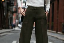 TREND TO TRY: The Winter Culotte / A fresh silhouette that is easier to style than you think.