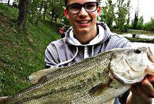 pesca al lago.