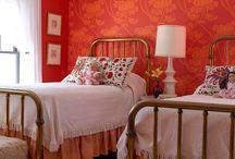 Yatak başı duvar kağıdı uygulaması