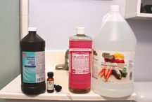 Cleaning Supplies DIY
