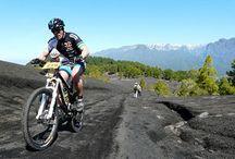 Ocio activo: tierra / Suelta adrenalina en La Palma por tierra. Mountain bike, senderismo, espeleología...Todo es posible