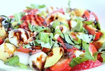 Salate und sossen