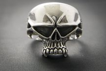 Skull Rings / A few of the skull based rings available. All made from .925 Silver