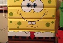 Marek pokoj 2 / Spongebob