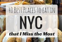 NYC PLACE TO SEE AND EAT