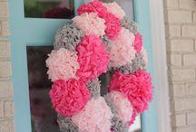 Just wreaths / by Dianne Starke-Wood