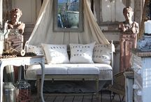 French Dream Decor / These looks are a little bit French/Rustic/Country/Shabby/Whatever, but they are a whole lot pretty. They certainly inspire me! / by Didi Dreams...