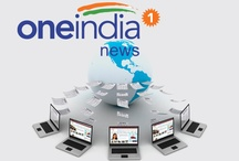 """OneIndia News / """"Oneindia is a large online portal that provides worlds news, top news headlines, entertainment,movie news, blogs, holiday, living, videos, deals for you and more. It has indian language site, kannada, tamil, telugu, malayalam"""" / by Oneindia"""