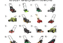 Gas Lawn Mower