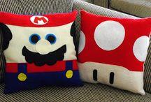 Almofadas super Mario