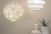 Deco lámpara de papel