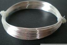 Accesorii Bijuterii Argintate/Aurite / Accesorii argintate sau aurite pentru confectionarea bijuteriilor placate cu aur sau argint.