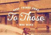 Wake, moto, extreme inspirational