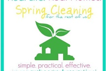 Cleaning / by Cynth Love