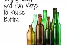 Ideer efter flasker, spande og andre emner