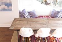 Interiors with kilims