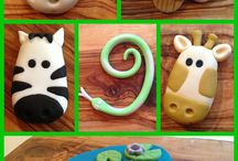Fondant decorations  / by Marilyn Ruiz