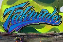 Taknado lettering / Lettering