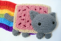 AMIGURUMI! / Cute crocheted stuff that goes by the name of Amigurumi.   It is one of my obsessions right now :)   / by Isabelle Dimiceli