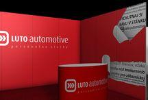 Luto Automotive / stanok na výstavy Luto