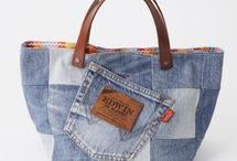 patchwok-denim / Tašky a kabelky z jeansoviny