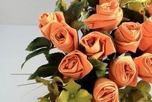 Napkin bouquets / by Cynthia Peralta-Murillo