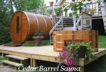 Sauna idee tuin