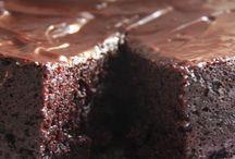 kleiner schokoladenkuchen