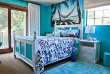 Hawaiian bedroom for Kayla
