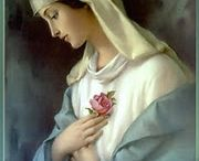 Blessed Virgin And The Saints / by Cheryl Cullen-Fowler