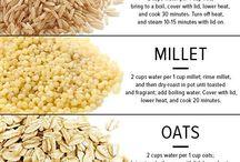 Cuisson des grains (riz, quinoa, millet etc.)