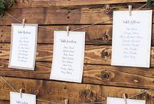 Wedding Table Plans/Ideas