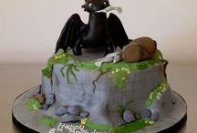 dragons cakes
