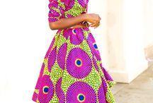 GIRLS African Print Fashion / Girls African Print fashion inspiration