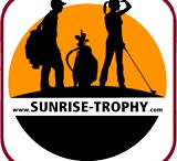 """SUNRISE TROPHY / """"Spaß am frühen Spiel"""" . . . Für Golfer und Golferinnen jeden Alters, die """"als Frühaufsteher"""" mind. 9 Loch spielen und dieses um 9:00 Uhr beendet haben."""