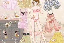 Paper Dolls / All about dolls made of paper