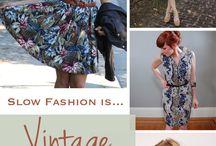 Slow fashion / Ideias, lojas e outras inspirações sustentáveis fashion.